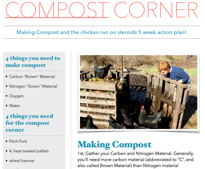 compost corner screen shot