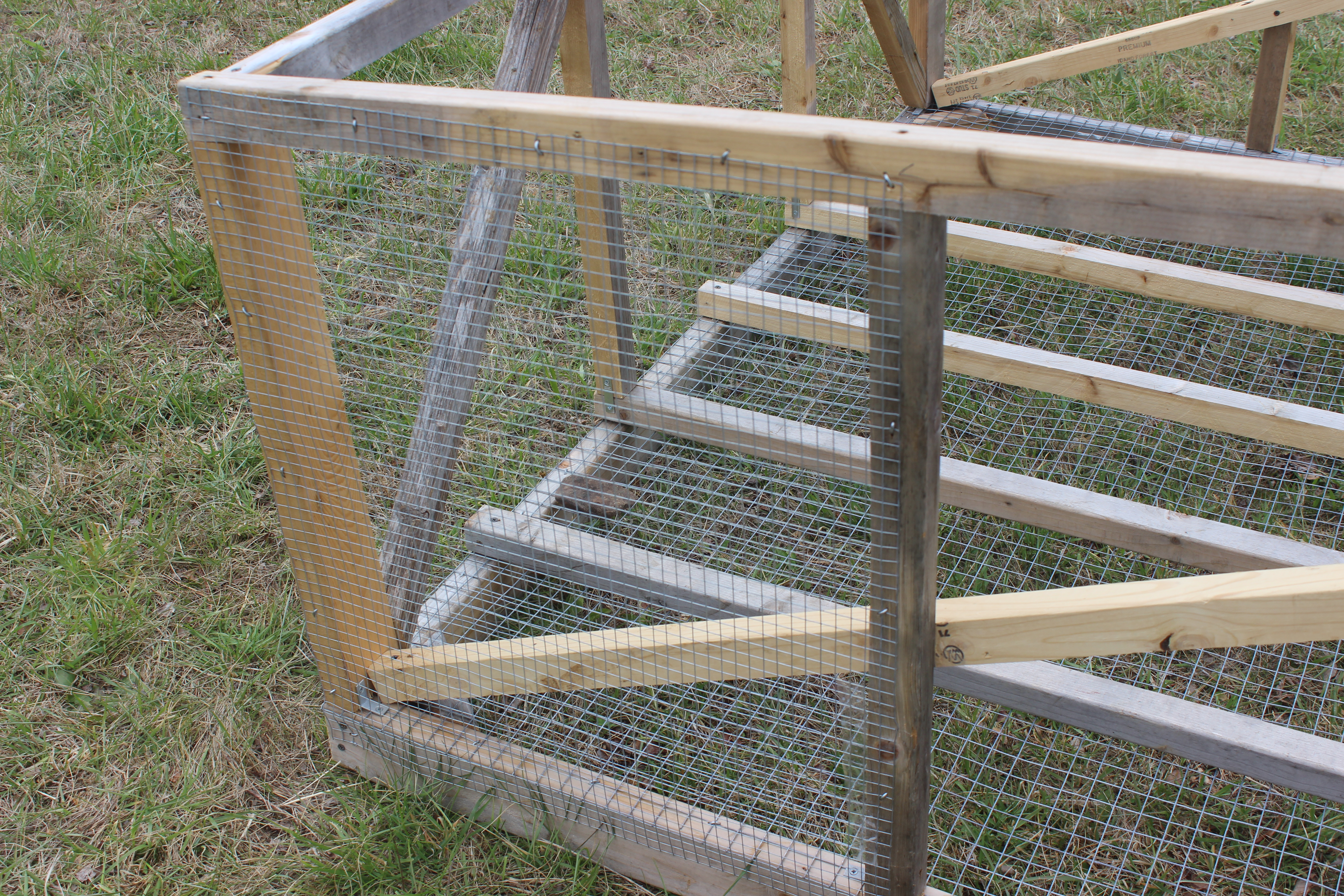 Chicken Wire Panels On Hinges - DATA WIRING •