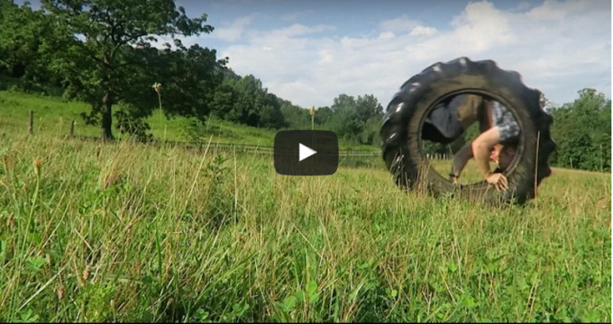 Day 77 – Rolling In A (Tractor) Tire!
